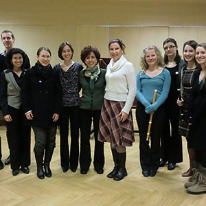 Master class a Vienna 2013