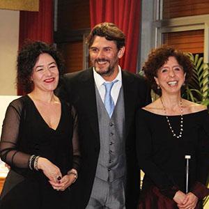 Messina 2017, con Paola Erdas e Mirko Guadagnini