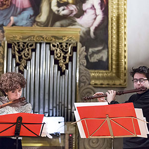 Con Luigi Lupo, foto di Andrea Sermoneta