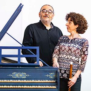 Con Rinaldo Alessandrini 2018, foto di Andrea Sermoneta