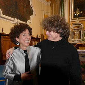 Con Guido Morini 9 Marzo 2019, foto Antonino D'Urso.