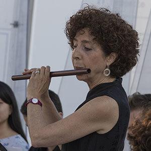 Ferrara 2019 con flauto rinascimentale